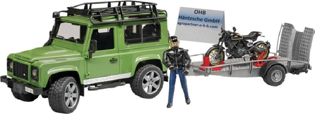 30060002598 - Land Rover mit Anhänger [Land Rover with trailer ]